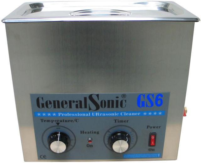 GENERAL SONIC GS6 set incl korf